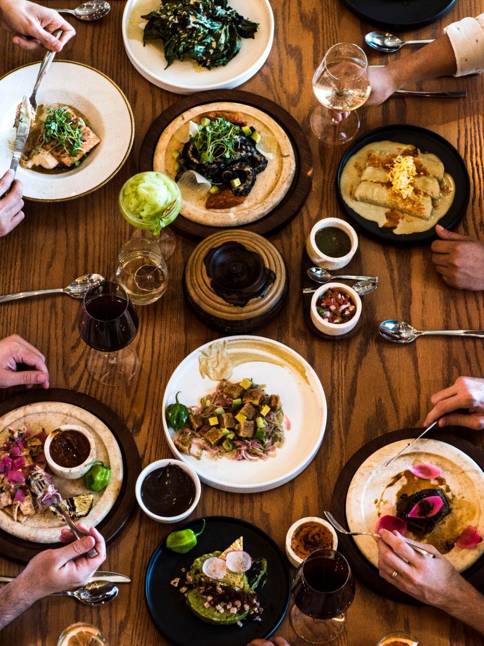 United to Mérida Yucatán food