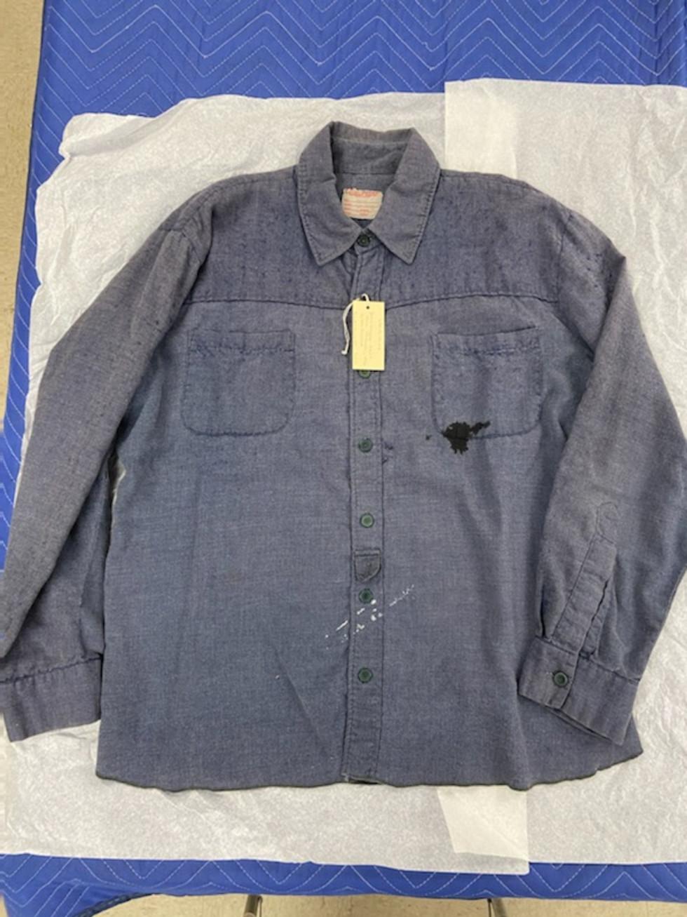 John Wayne's Chisum shirt