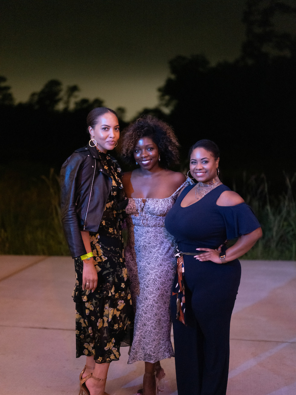 Memorial Park Conservancy Urban Wild Glow in the Glades 2021 Danielle O'Bannon, Zoe Cadore, Iman Garrett-Price