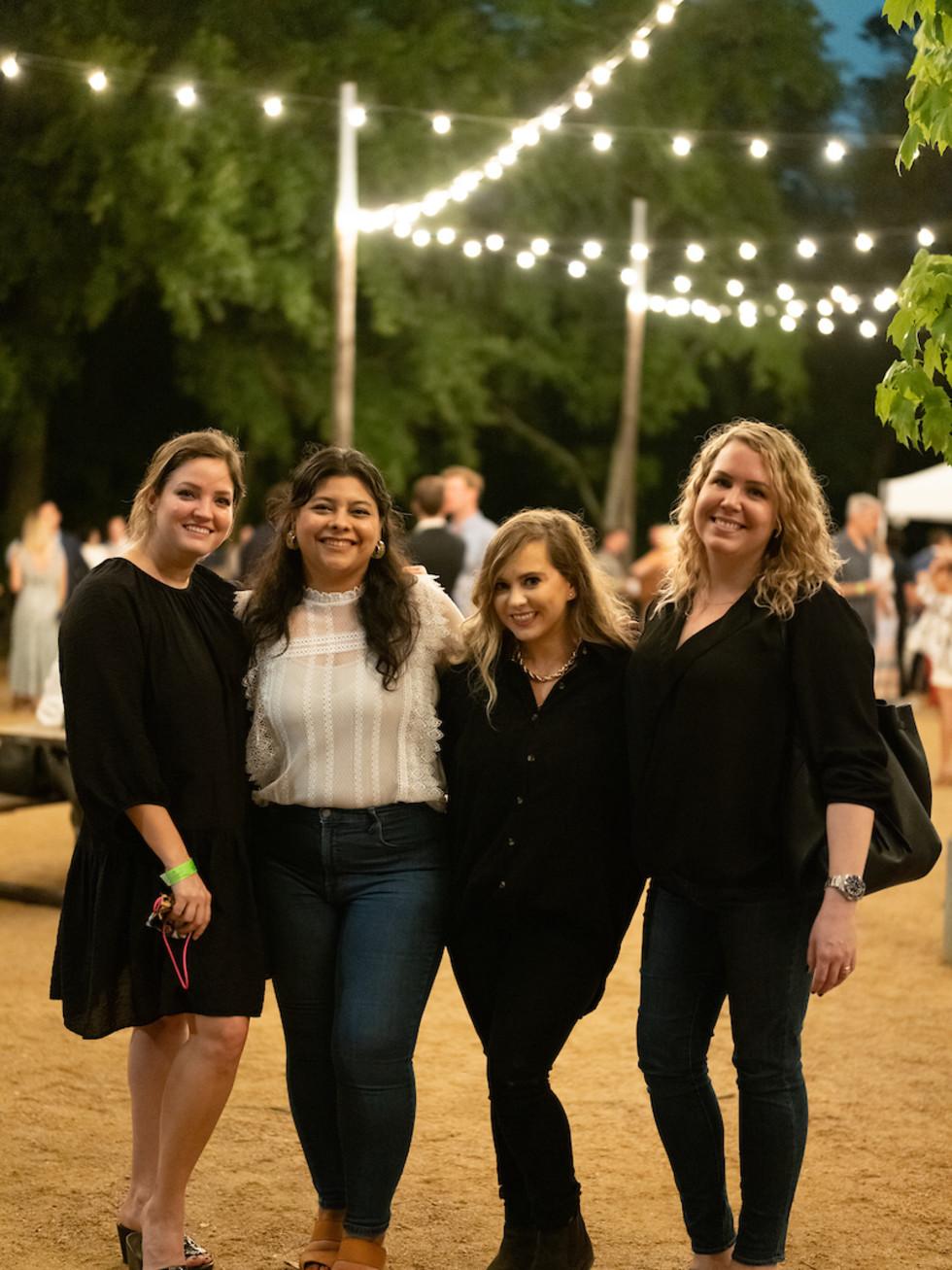 Memorial Park Conservancy Urban Wild Glow in the Glades 2021 Erica Matthews, Yvette Salazar, Megan Blaisdell Willis, Grace Salvie