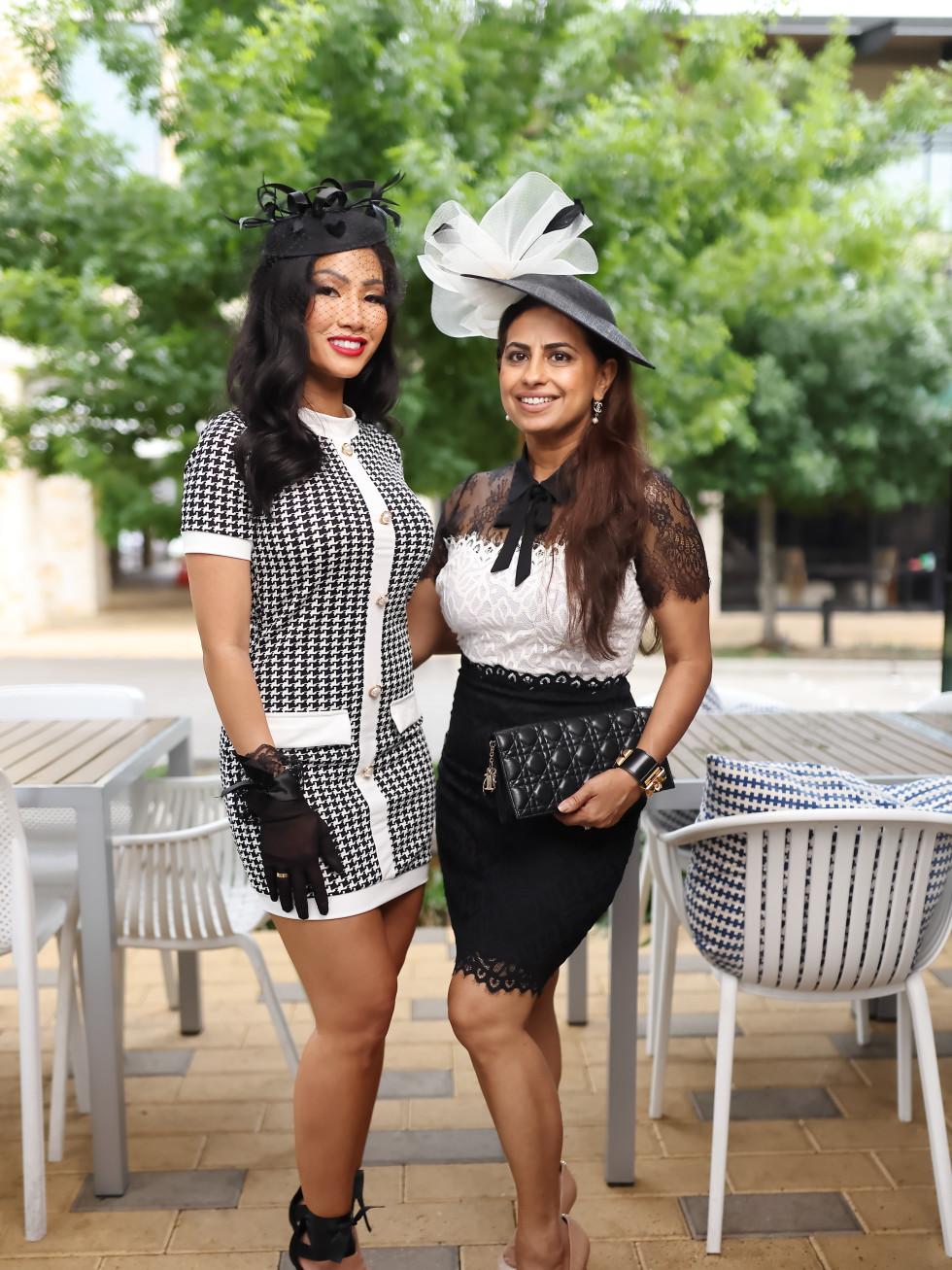 LCA Houston Mother's Day Bubbles & Bites 2021 Terri Ho Ruchi Mukherjee