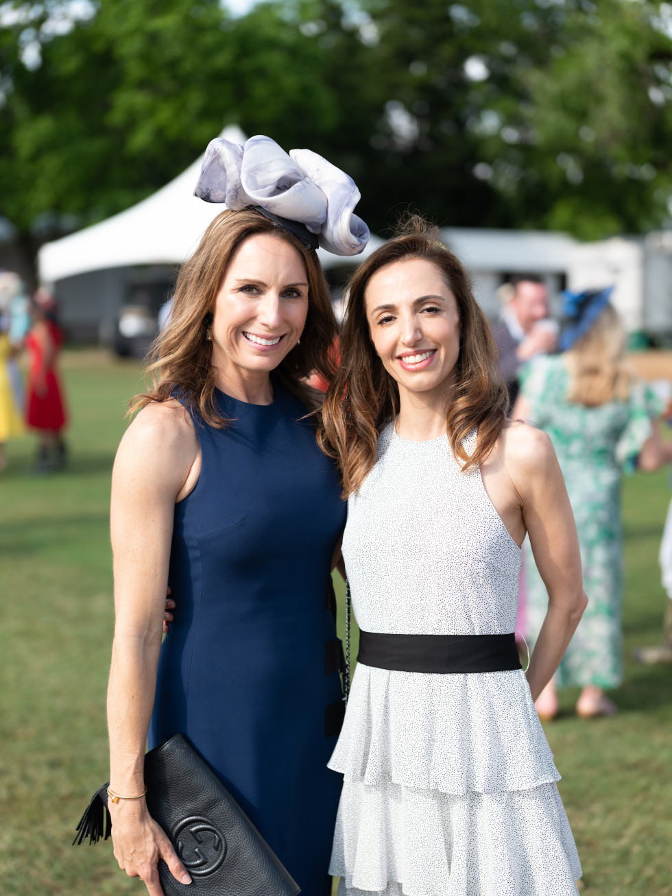 Bo's Place Kentucky Derby 2021 Houston Polo Club Brooke Bentley Gunst and Lila Sharifian