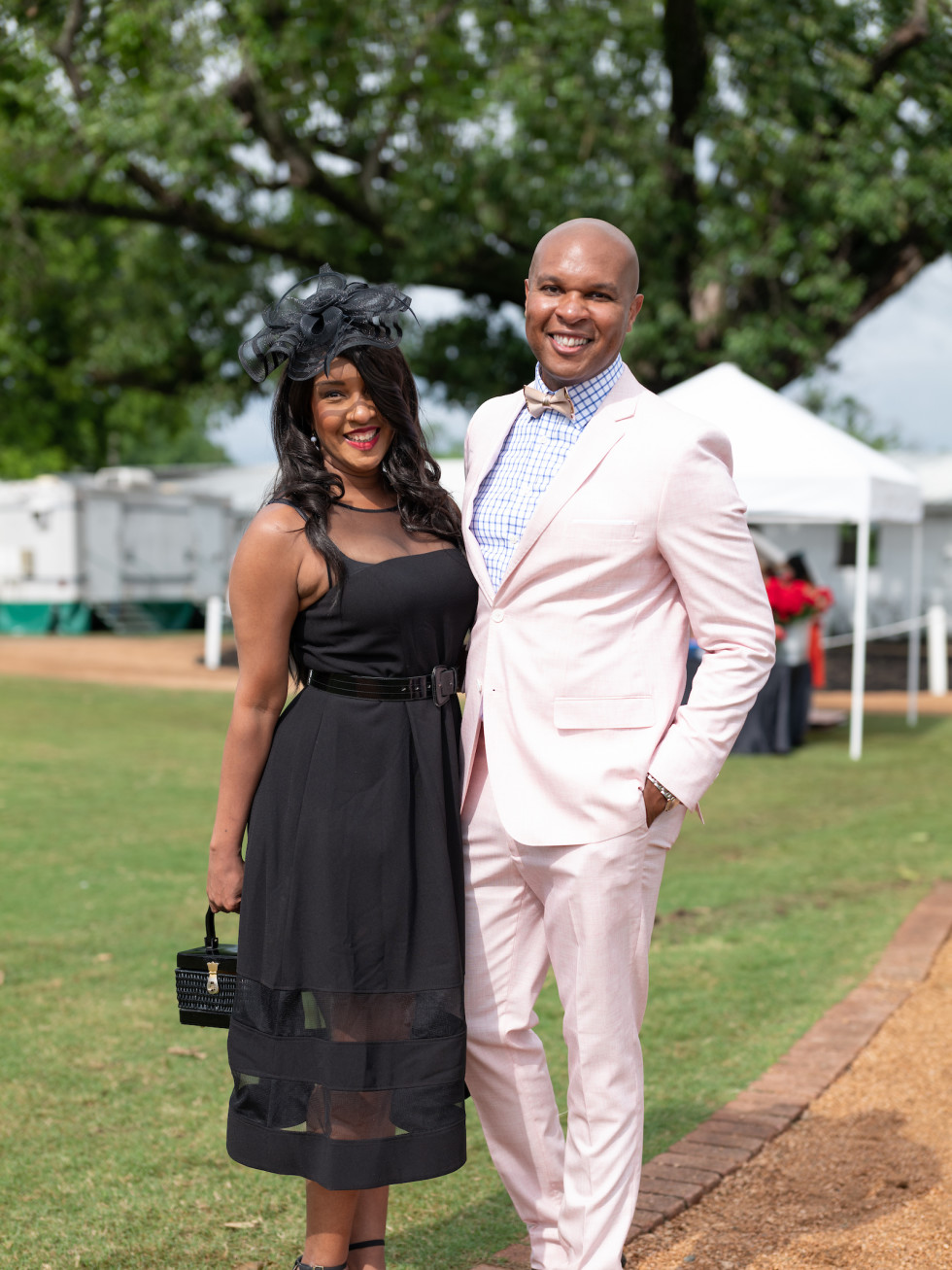 Bo's Place Kentucky Derby 2021 Houston Polo Club  Cicely Reid Travis Torrence