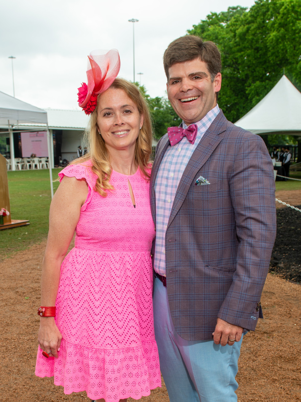 Bo's Place Kentucky Derby 2021 Houston Polo Club  Julia and Harvin Lawhon