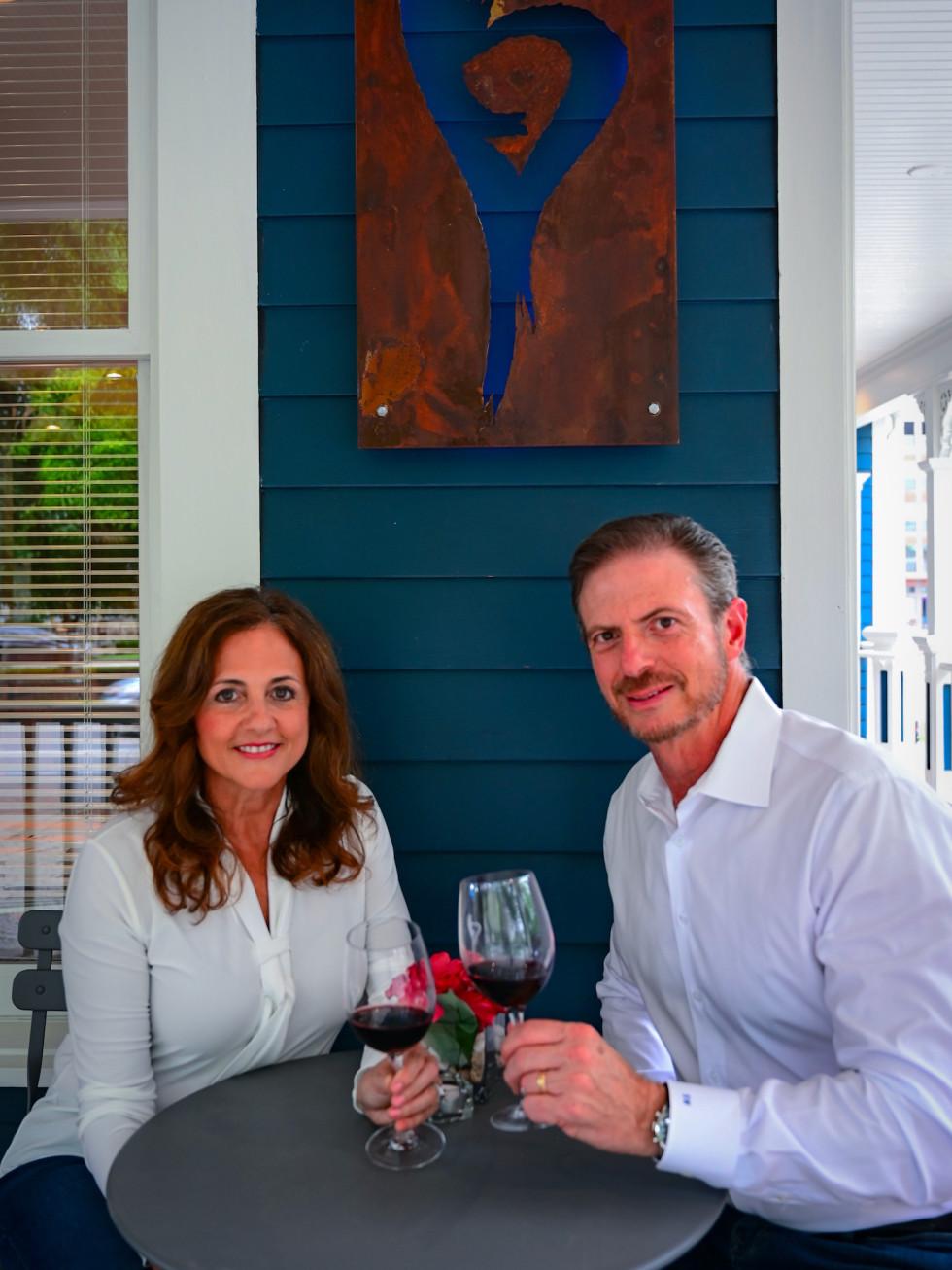 Carolina and Sergio Weitzman Serca Wines