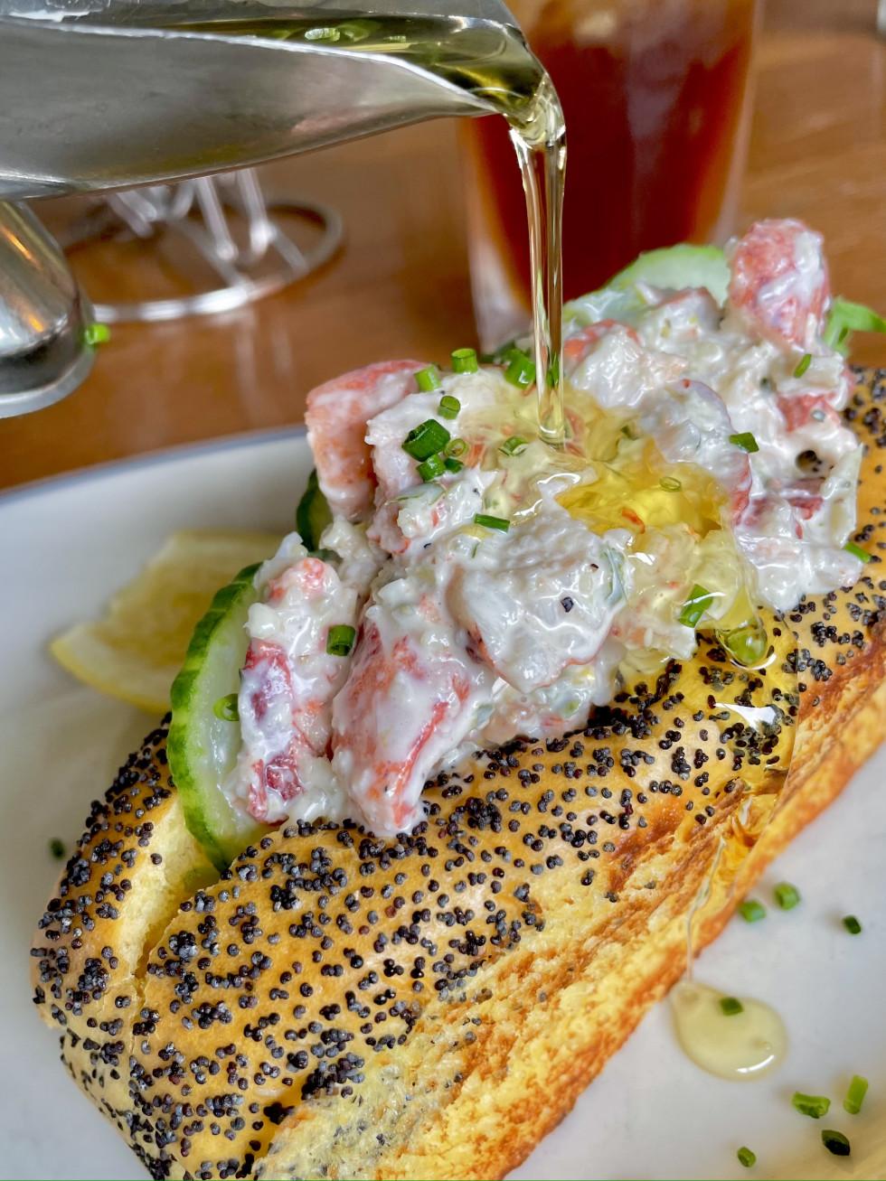 Hudson House lobster roll