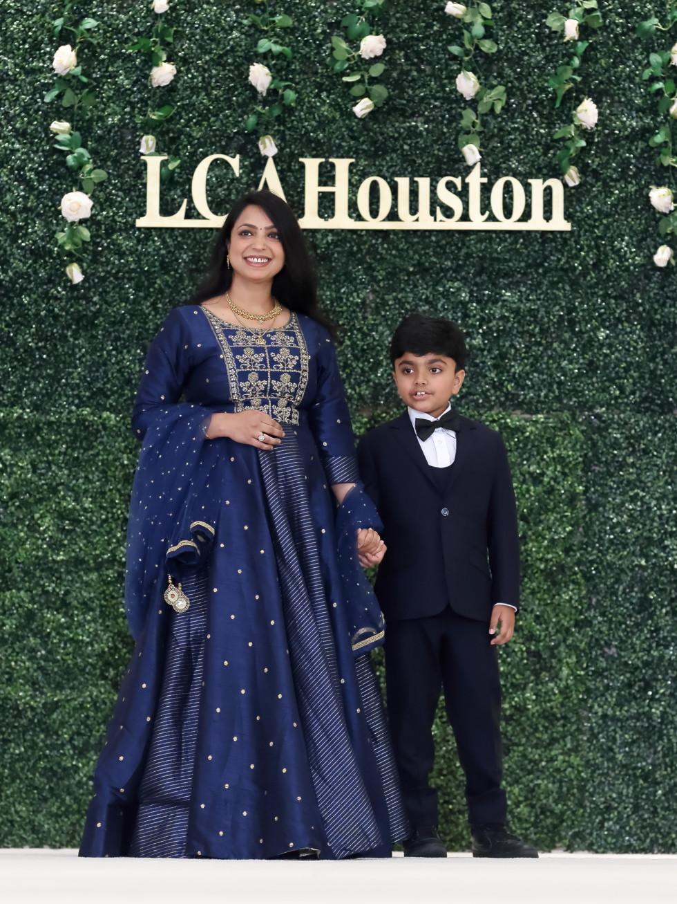 LCA Houston Mother's Day Soiree 2021Deepika Agarwal with her son Aryan