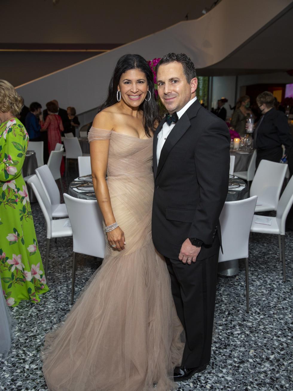 MFAH Grand Gala Ball 2021 Kristy and Chris Bradshaw