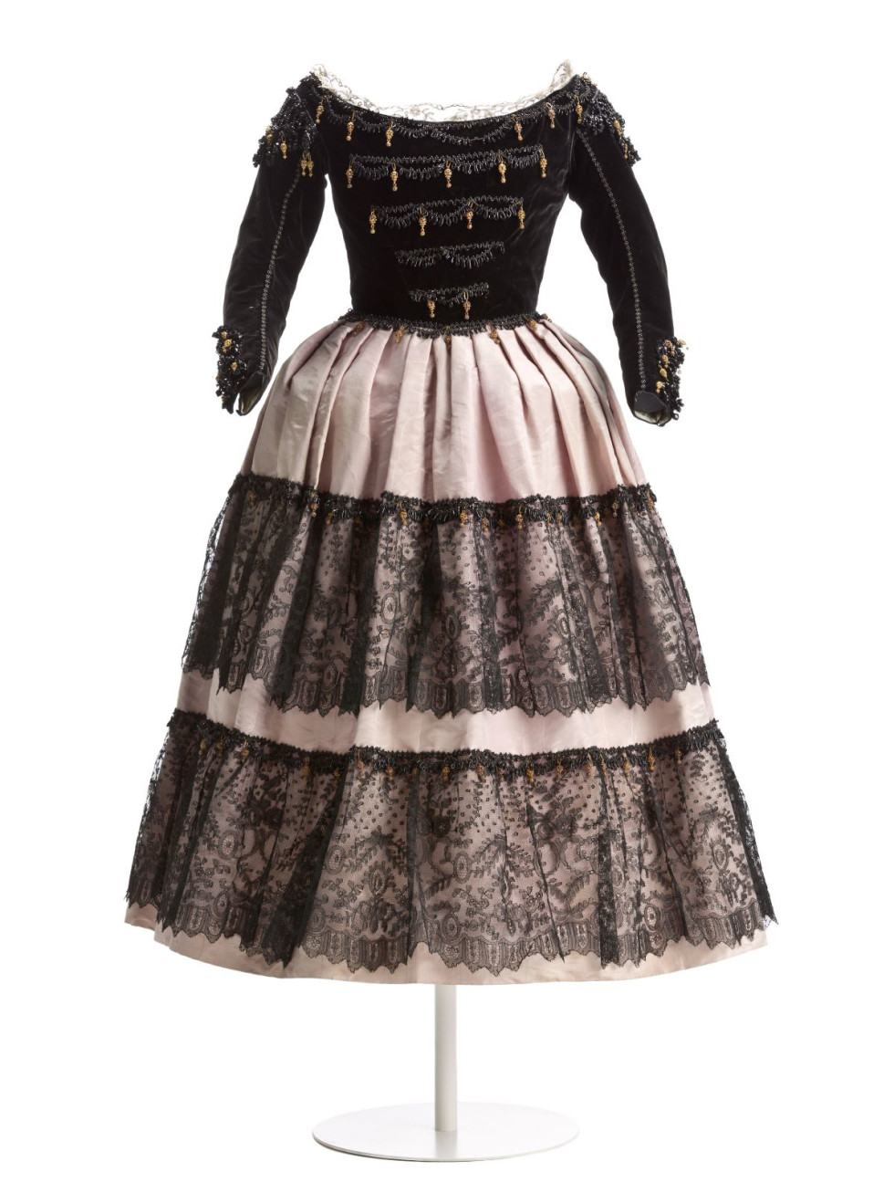 """Vestido Infantil Isabel de Bourbón y Bourbón (Dress), """"Canvas & Silk"""""""