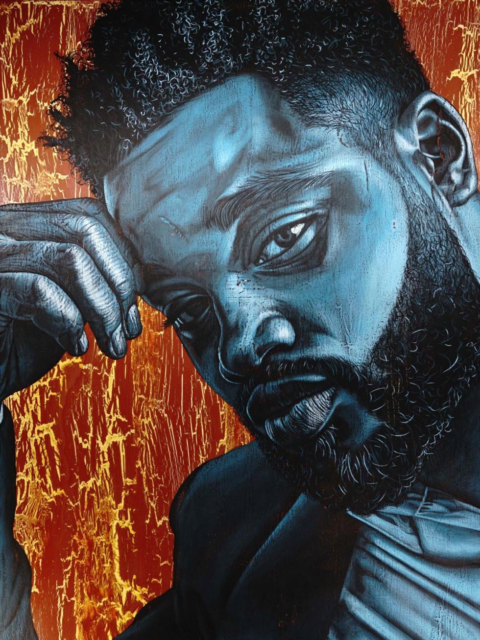 "Alfred Conteh-Ryan Coogler, ""Men of Change,"" African American Museum"