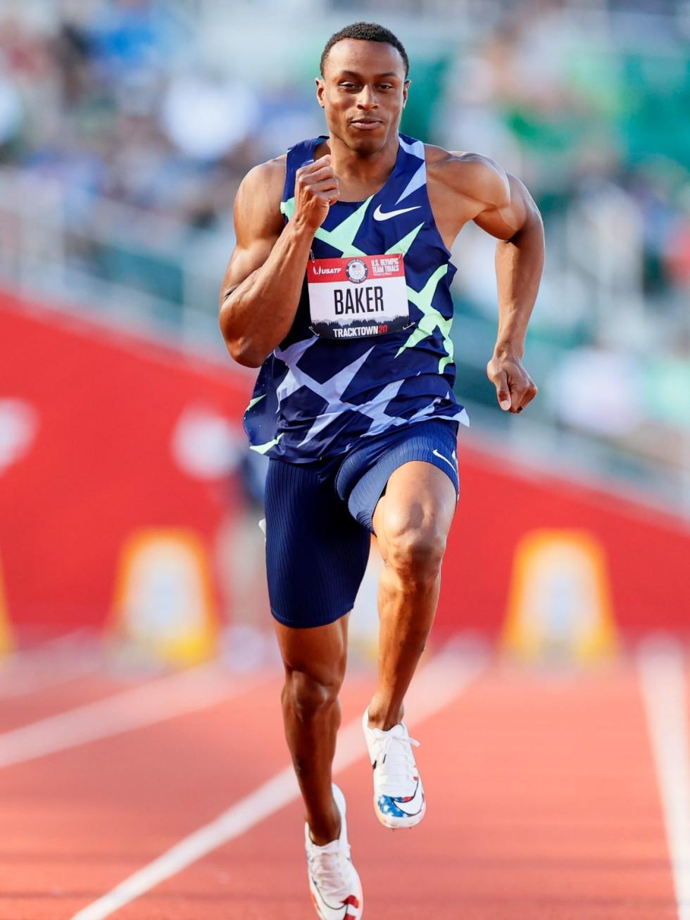 Ronnie Baker, TCU, Olympic runner