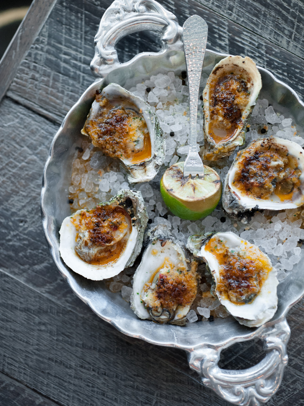Caracol oysters January 2014