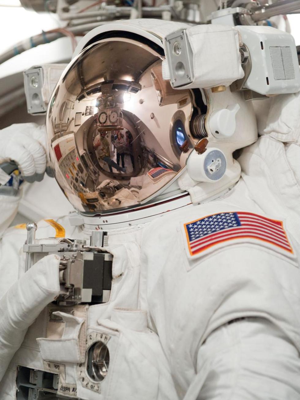 Astronaut suit helmet