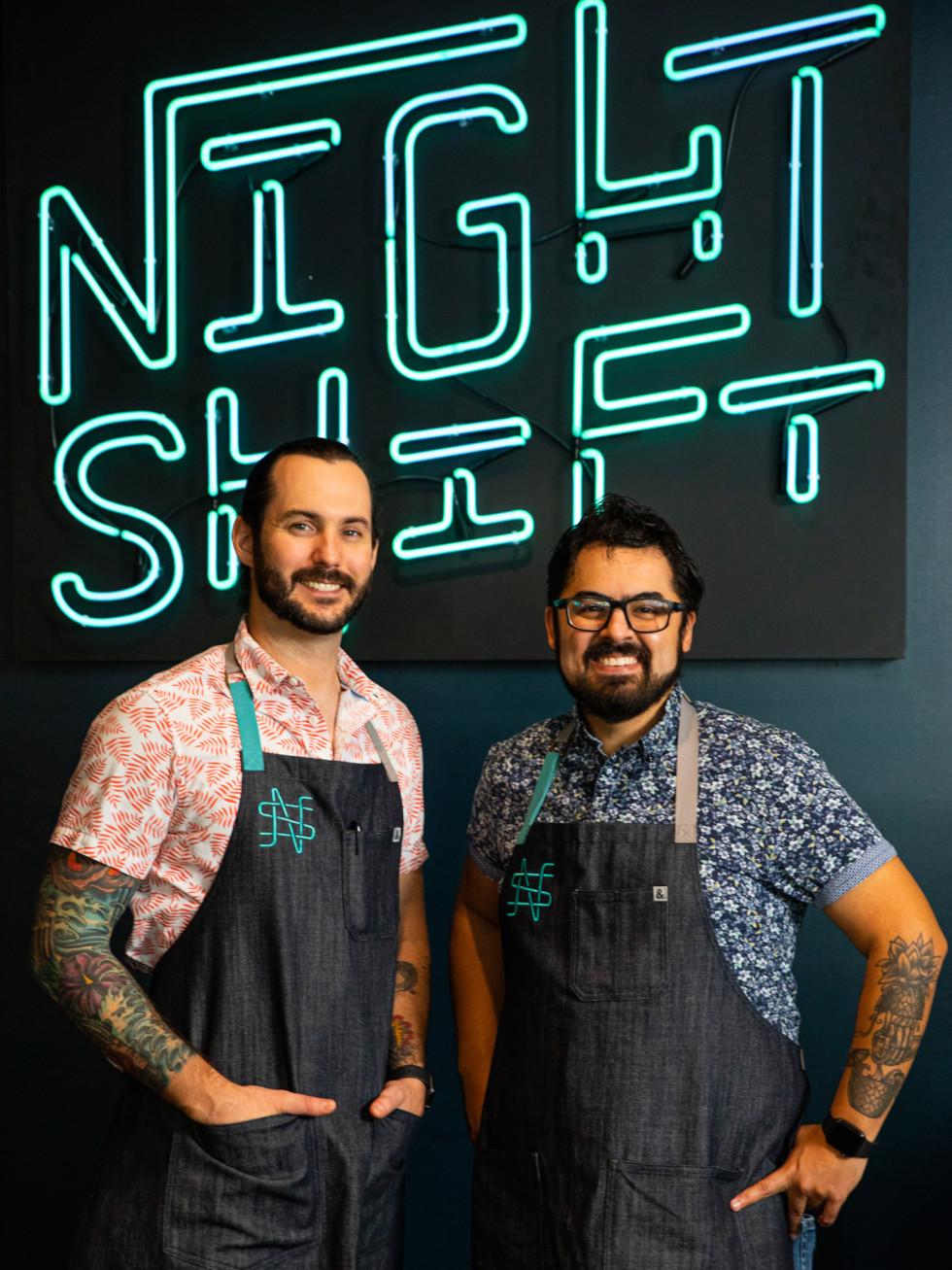 Night Shift Justin Ware Patrick Abalos