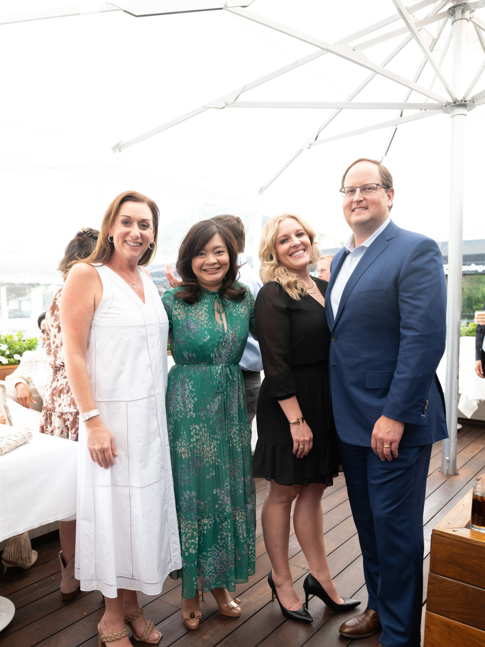 Elevated Connections Memorial Hermann Aspen Amalia Stanton, Erin Aspec, Alison and Greg Haralson