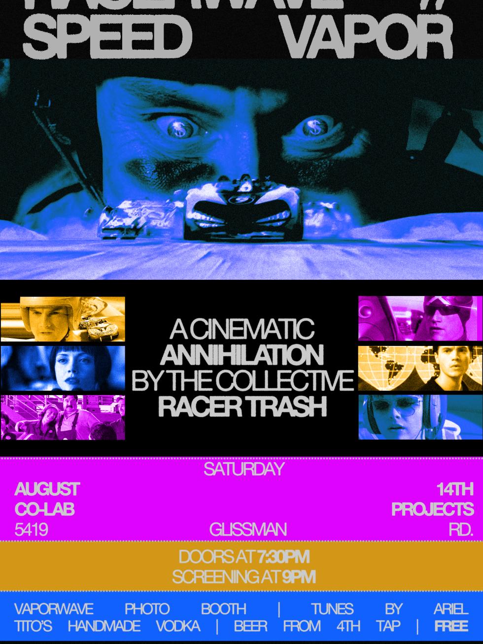 Racerwave poster