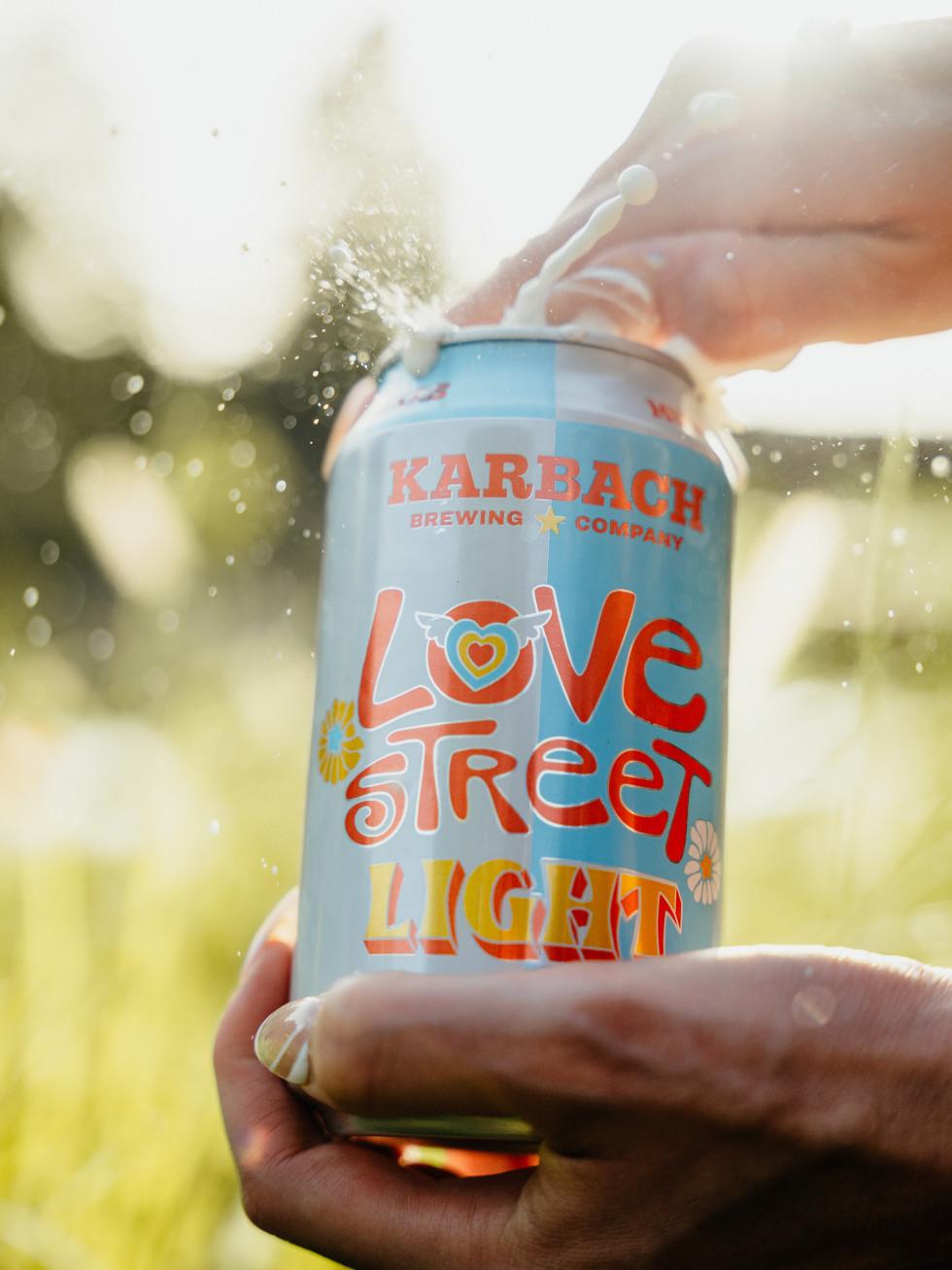 Love Street Light beer