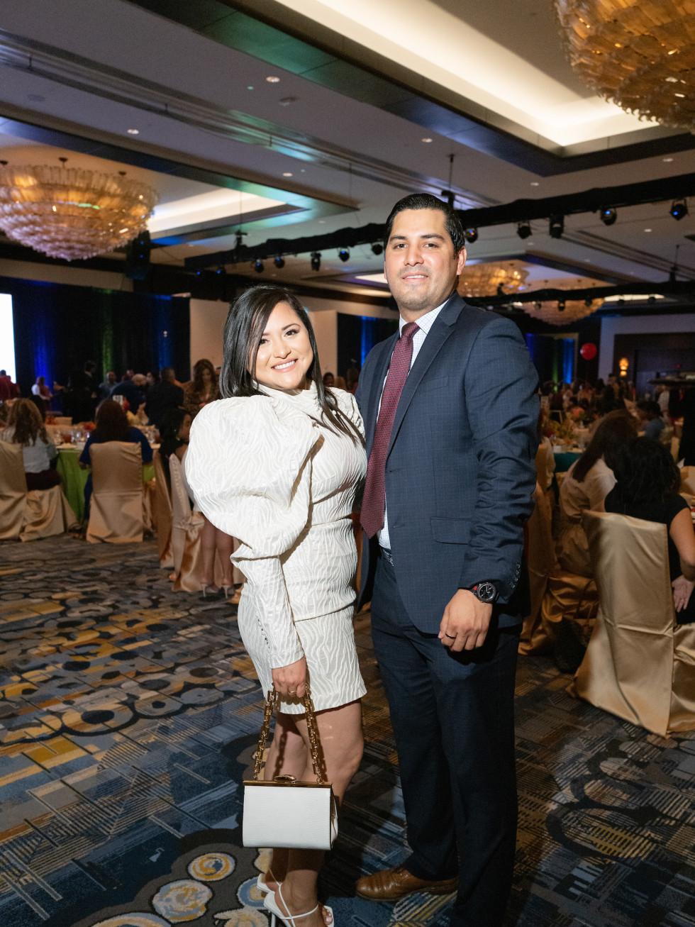 LWI Houston 2021 fashion show luncheon Daisy Eddie Mendoza