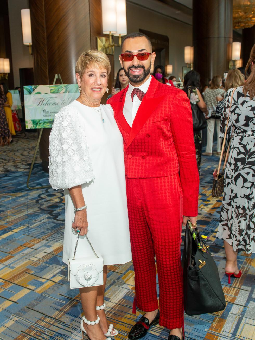 LWI Houston 2021 fashion show luncheon Donna Lewis Fady Armanious