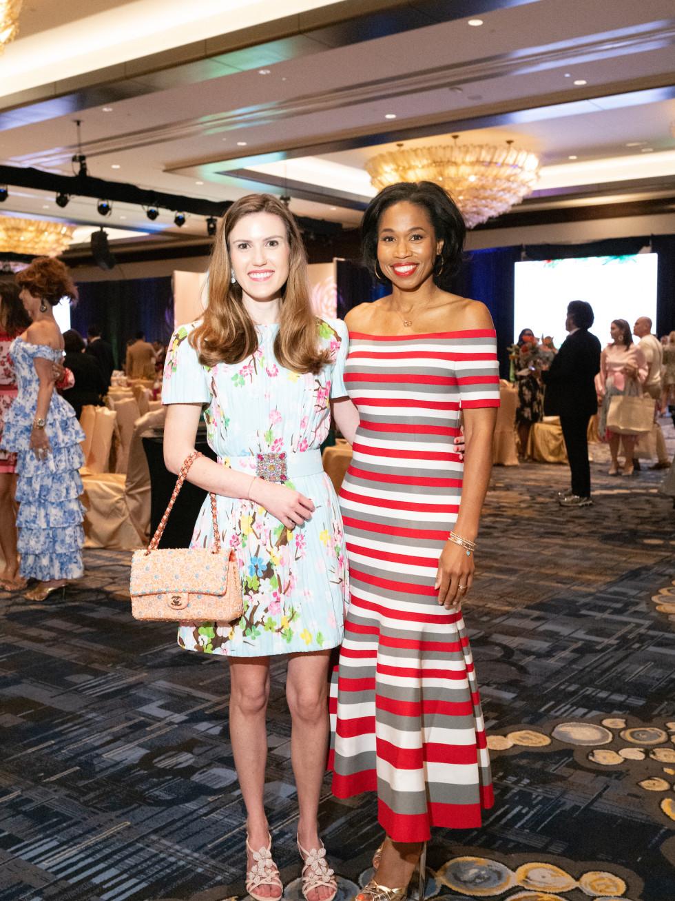 LWI Houston 2021 fashion show luncheon Heather Almond Roslyn Bazzelle