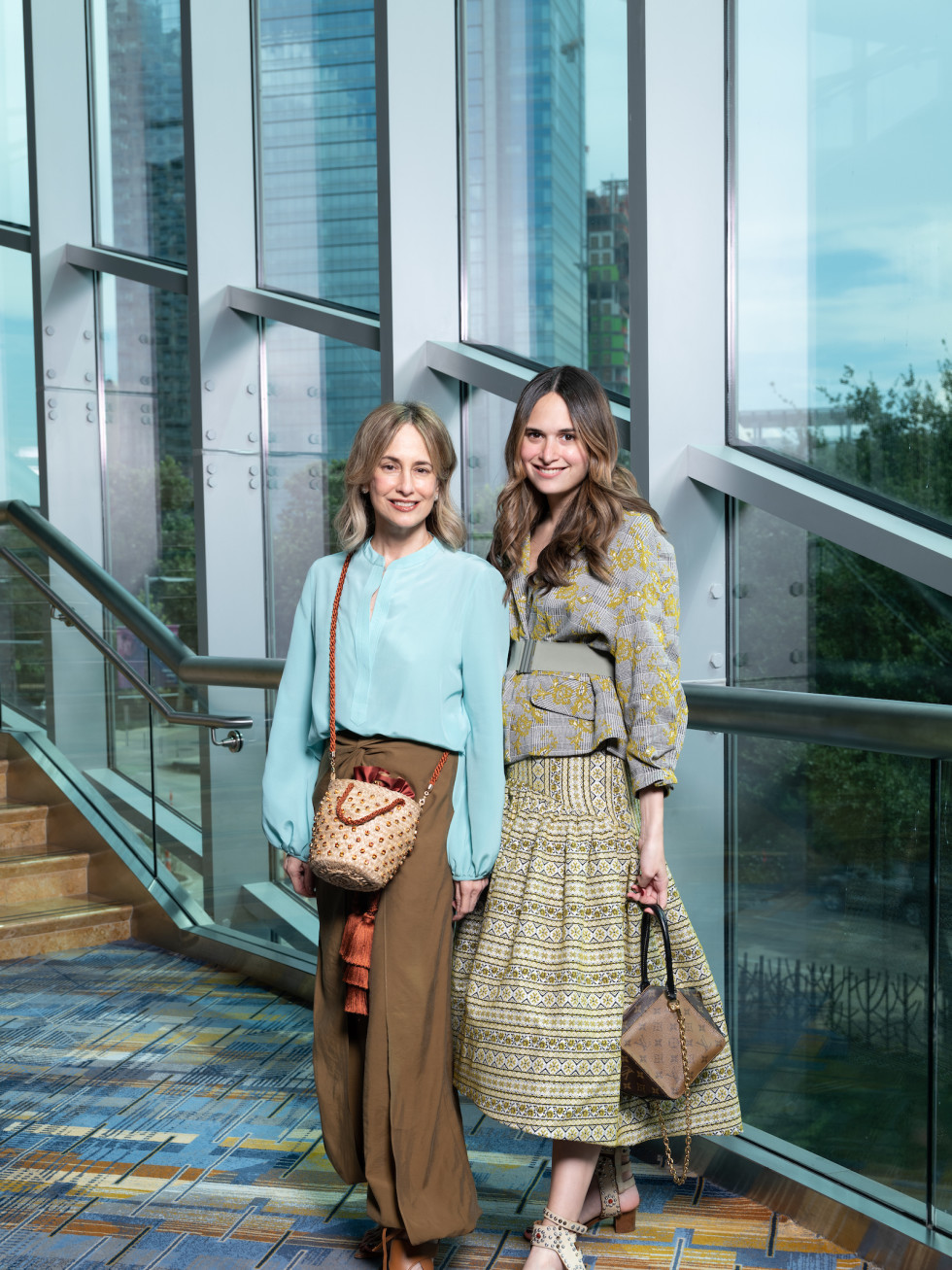LWI Houston 2021 fashion show luncheon Silivi Tcherassi and Sofia Espinosa Tcherassi
