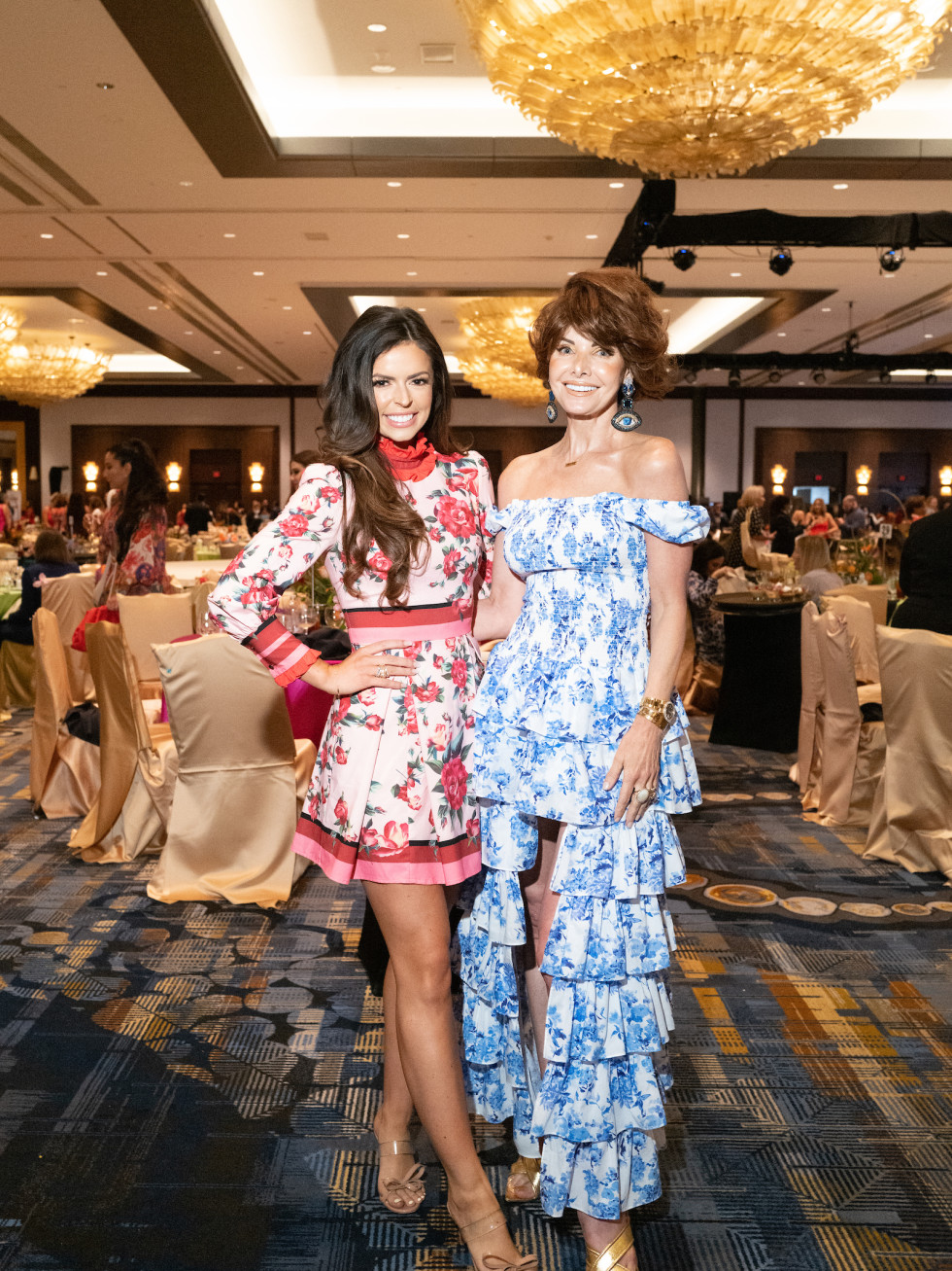 LWI 2021 Houston luncheon fashion show Miss Texas Logan Lester Tafelski, Marla Hurley