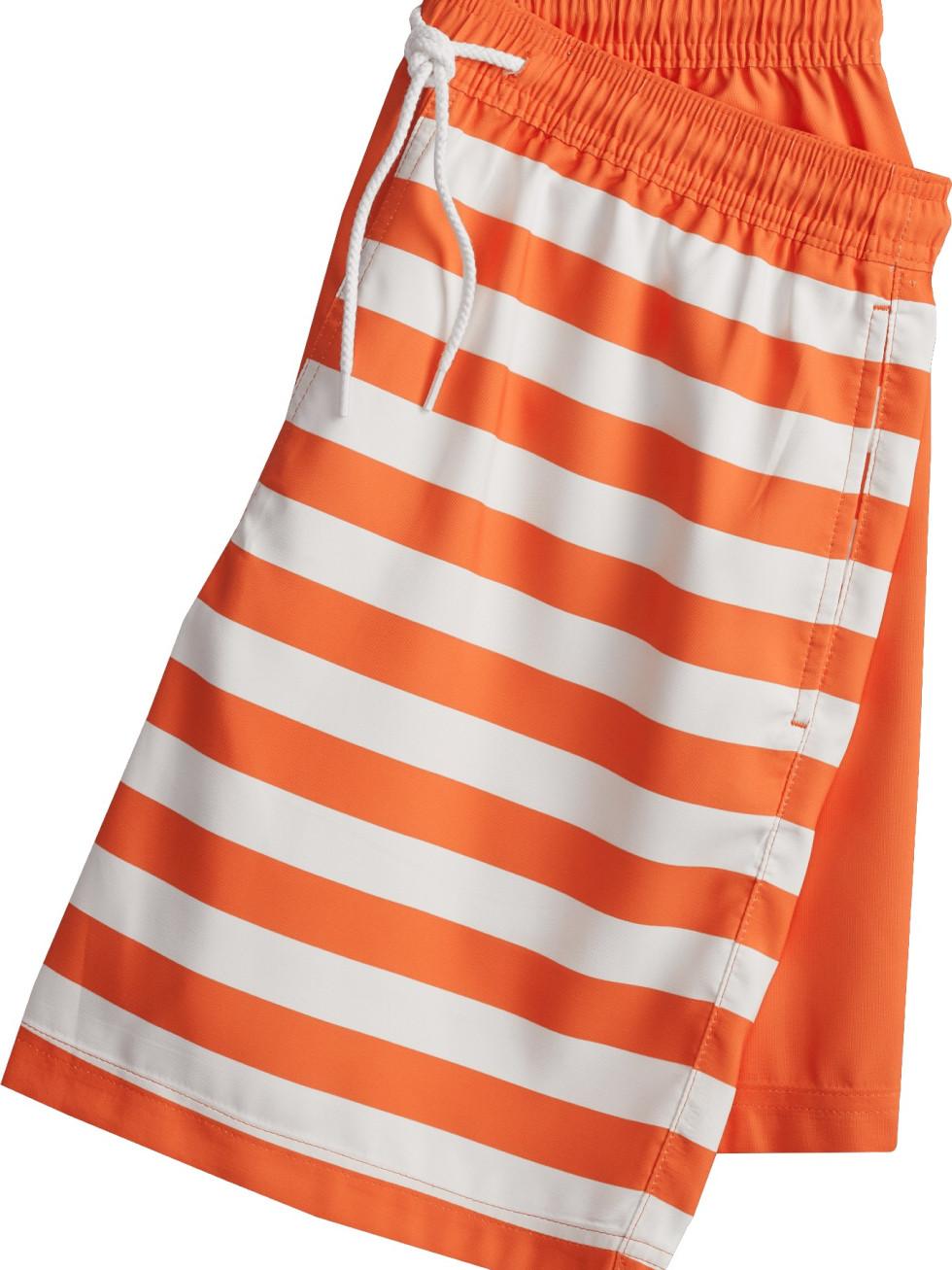 Whataburger Academy clothing line stripe shorts