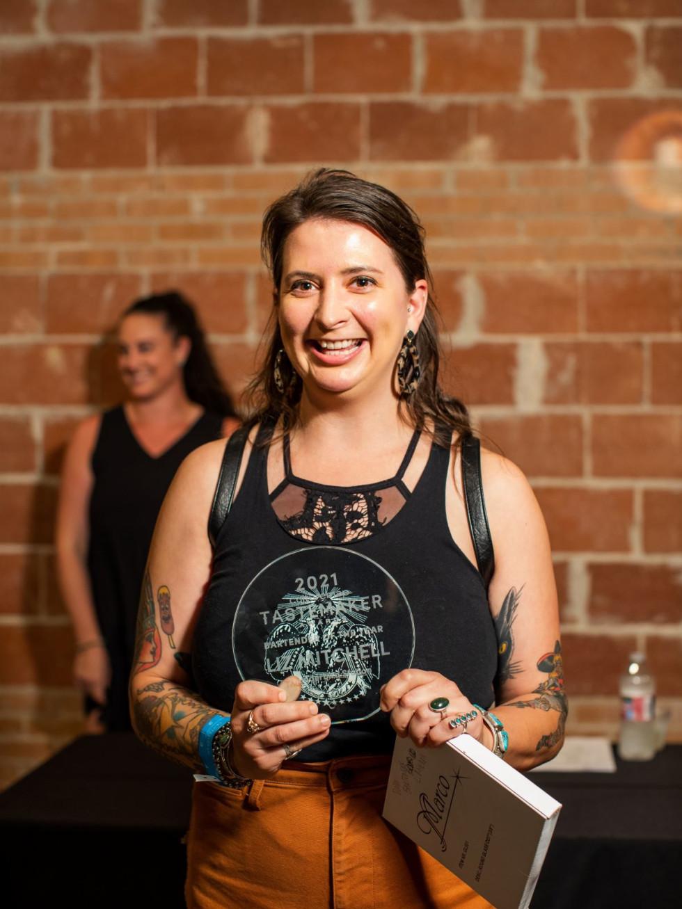 Liz Mitchell, Bartender of Year, Thunderbird Station