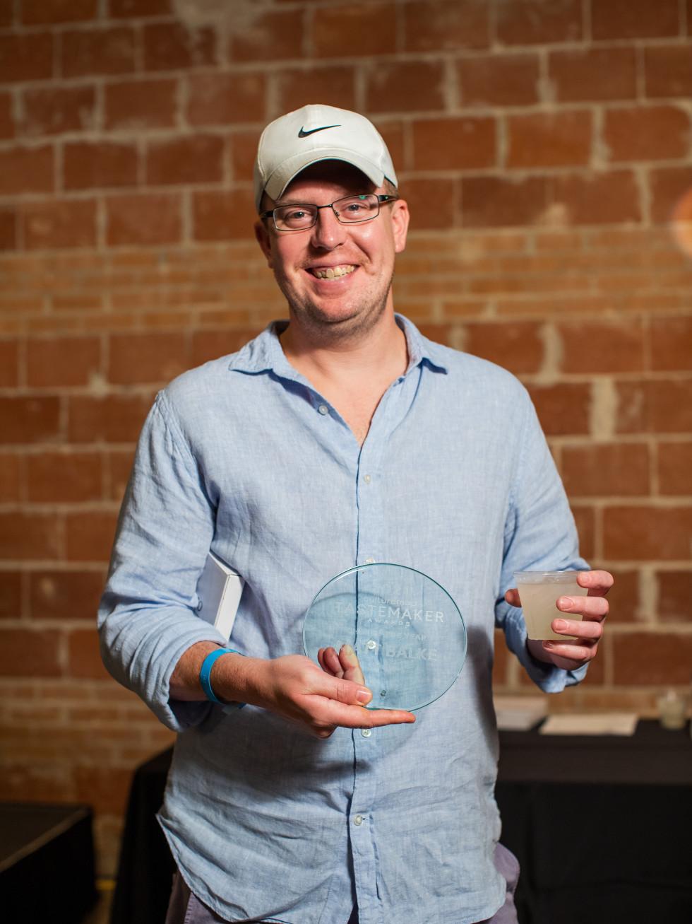 Matt Balke, Tastemakers Dallas Chef of Year