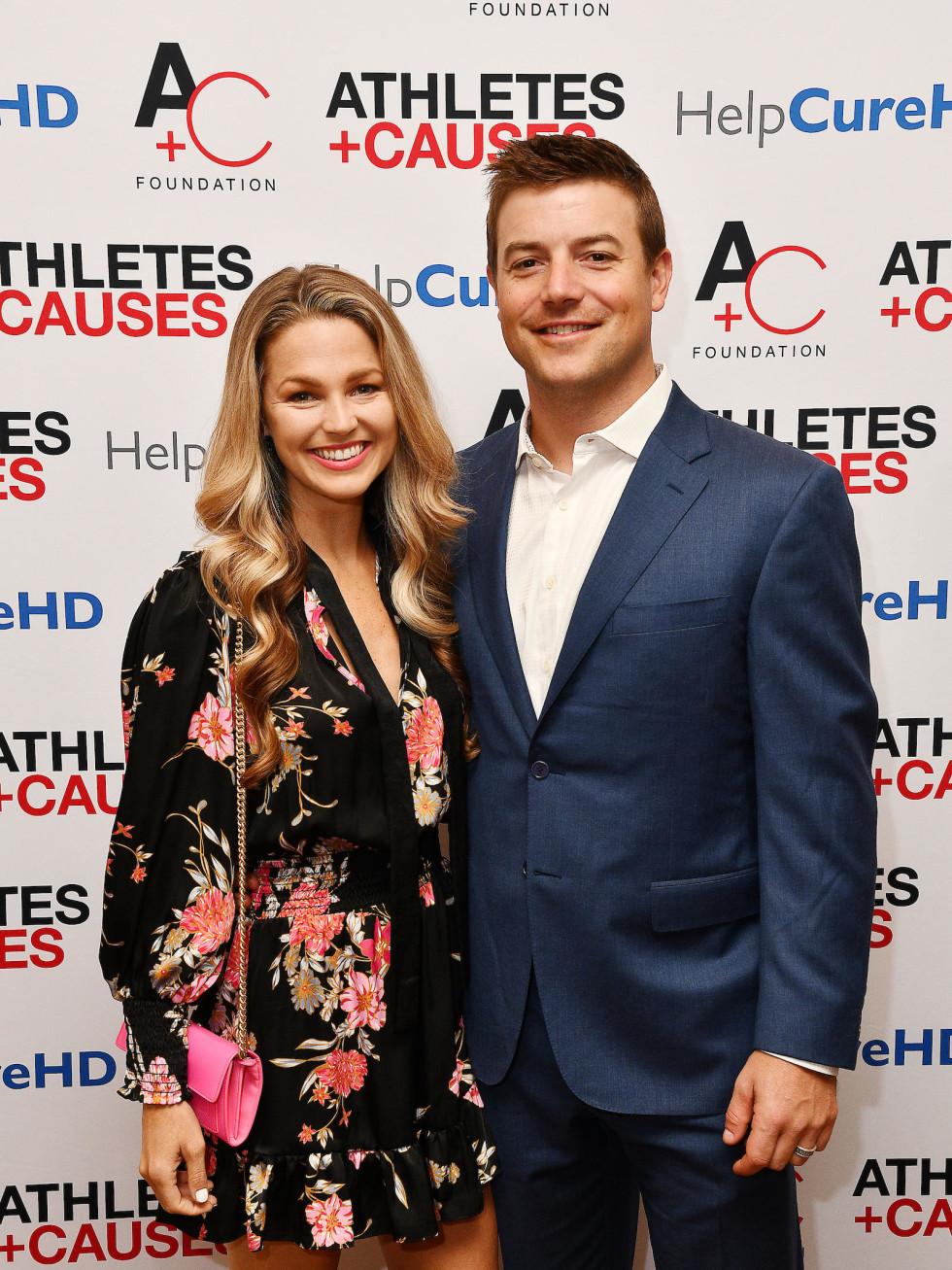 Allie LaForce Joe Smith Houston Astros Help Cure HD luncheon gala