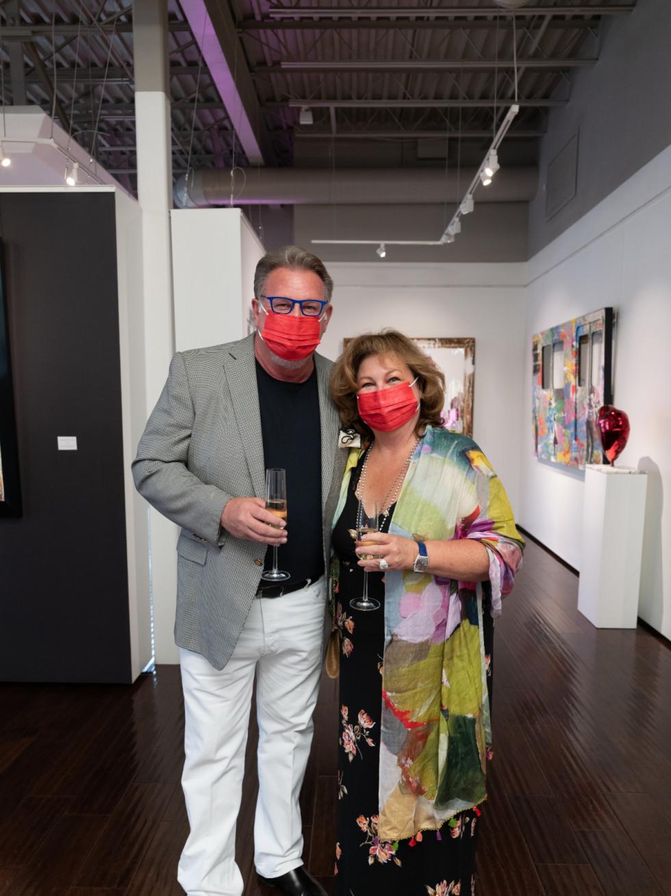 Arts, Hearts, Cars Art of the World Gallery Mr Brainwash RobinDanny Klaes
