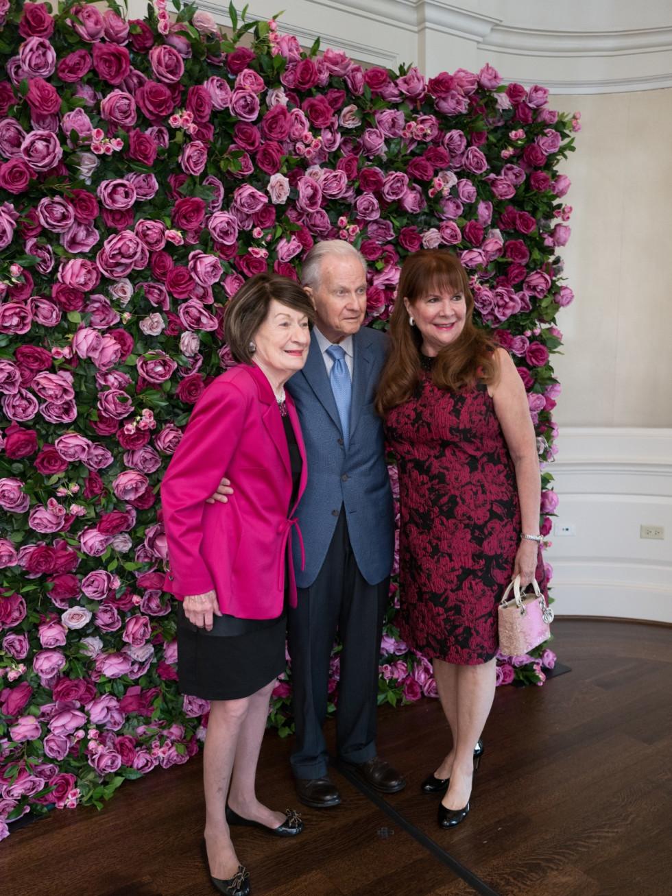 Tickled Pink Luncheon 2021 Cora Sue and Harry Mach, Barbara Van Postman