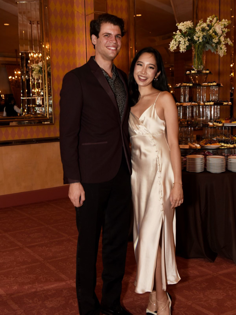 FWSO Assistant Conductor Alex Amsel, Yvette Keong