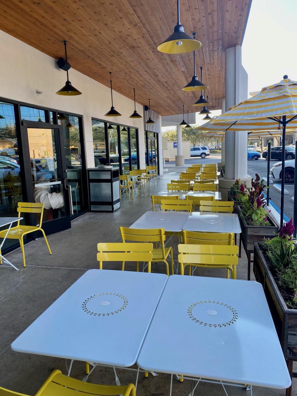 Original ChopShop Galleria patio