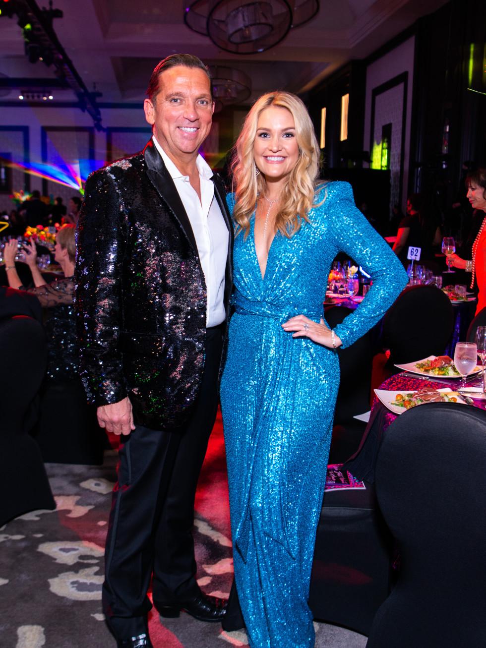 Houston Children's Charity Gala 2021 Tony and Frances Buzbee