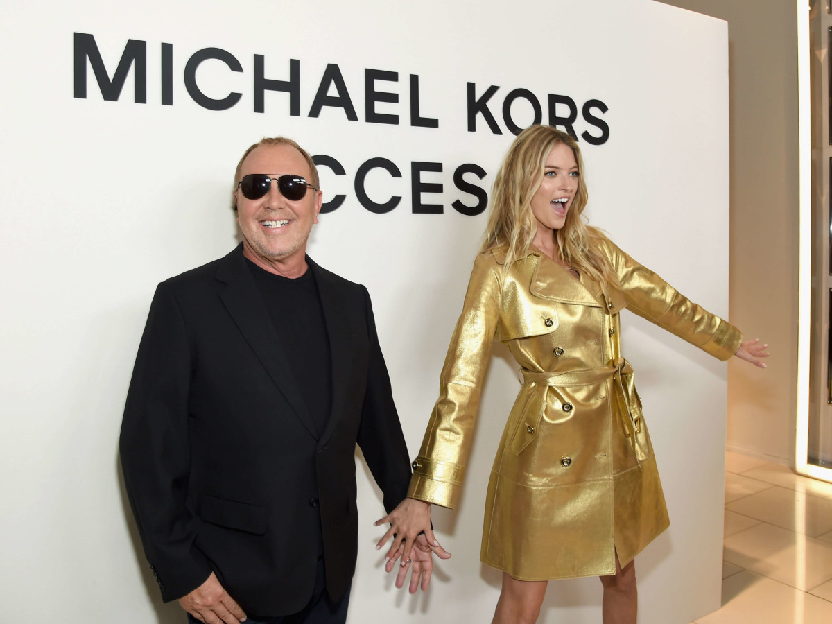 eb91a54027f6 Zendaya helps Michael Kors launch new smartwatch at fashion week ...