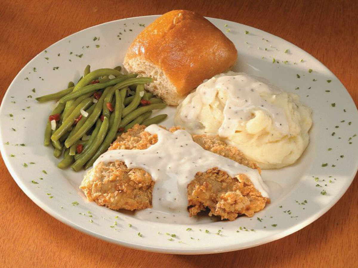 Black Eyed Pea chicken fried steak