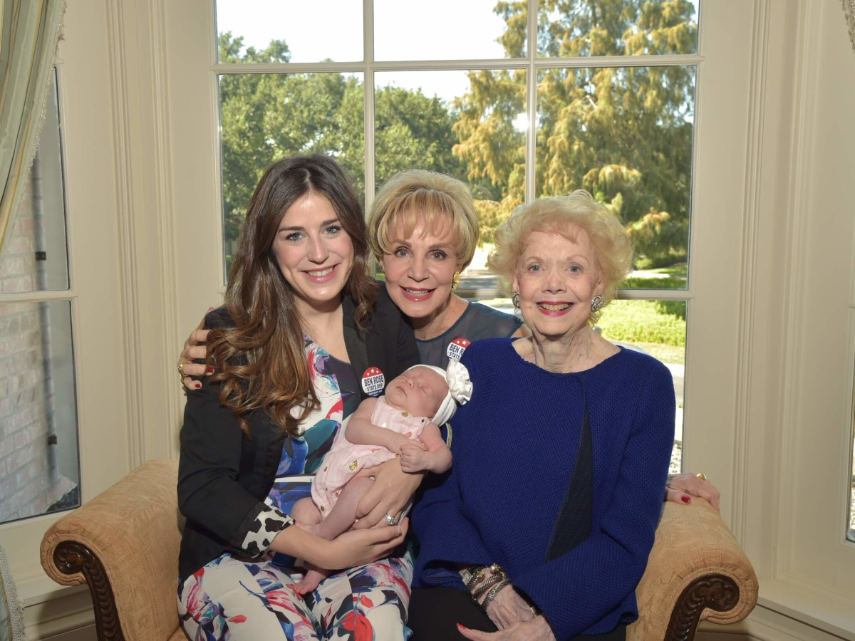3 philanthropists and a baby lauded at Assistance League lunch