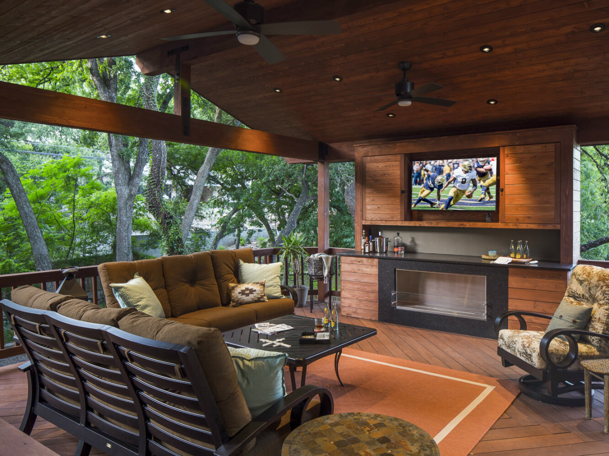 Austin design experts reveal top trends for your outdoor - Covered outdoor living spaces ...