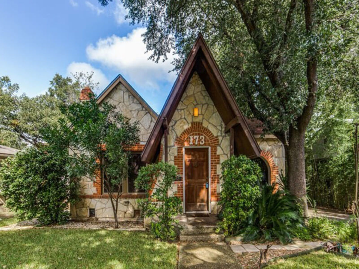 Step inside this storybook cottage for sale in San Antonio