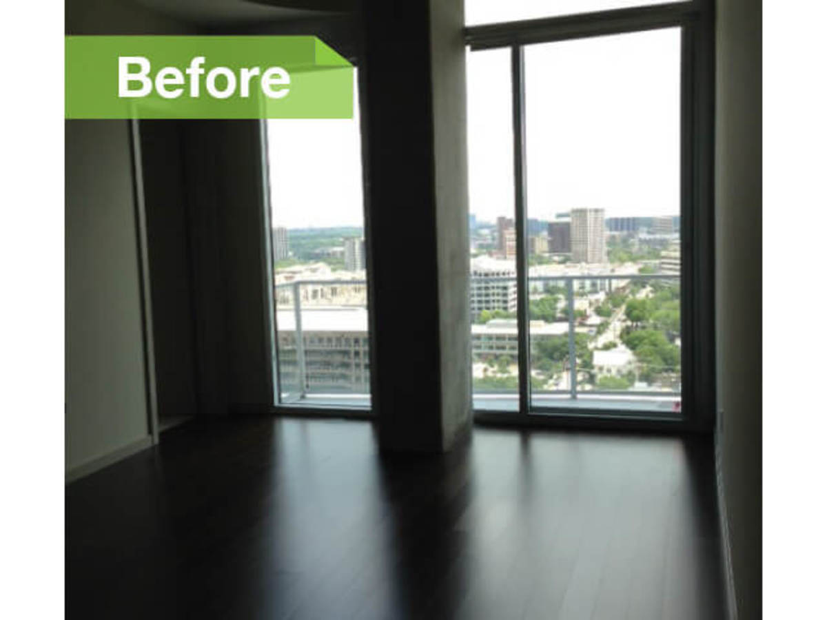 Dallas Designer Totally Transforms Uptown Apartment In Just