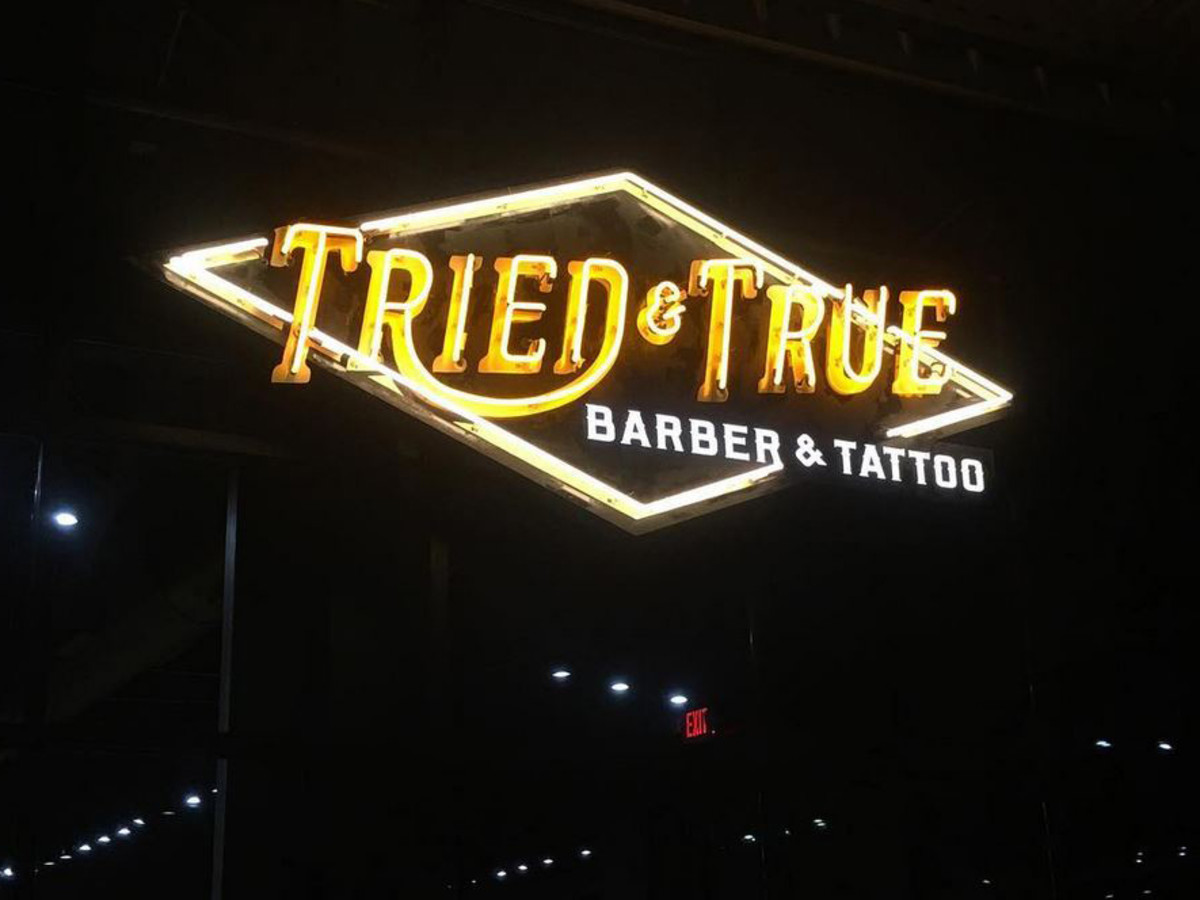 New Tattoo Parlor And Barbershop Hybrid Makes South Austin Even