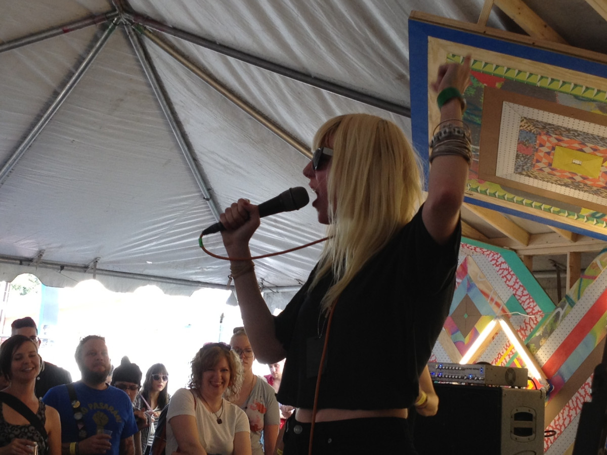 Icona Pop Icky Blossoms Play Rookie Magazine S Sxsw Party