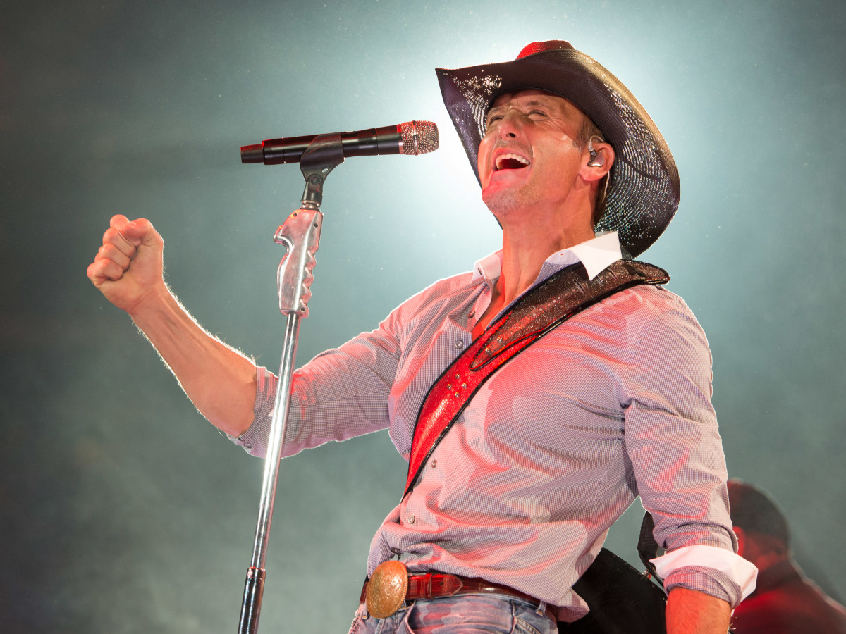 The Rolling Stones and Tim McGraw top 10 best weekend events