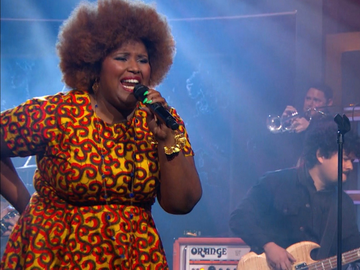 b0d6741cd6 Kam Franklin and The Suffers on The Daily Show
