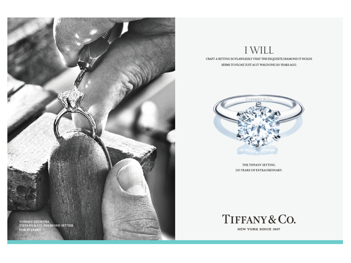 f15b618c2827 Tiffany s celebrates anniversary of engagement ring amid Costco ...