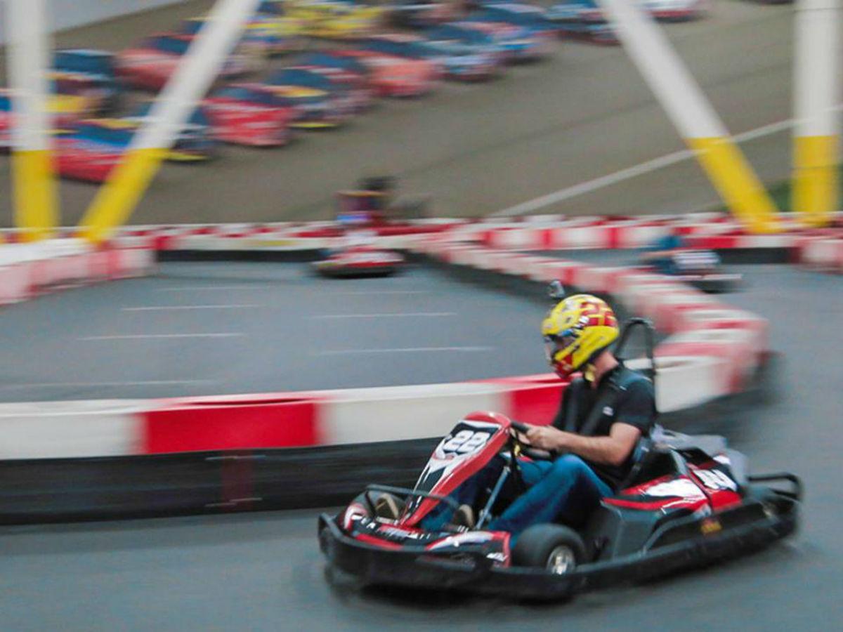 Go-kart fans find electric thrills at new Richardson track