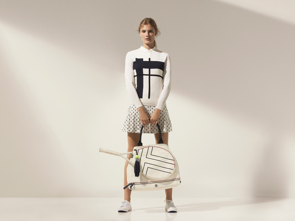 a3055c7882eab Tory Burch is a real sport with high-tech  70s-inspired activewear ...