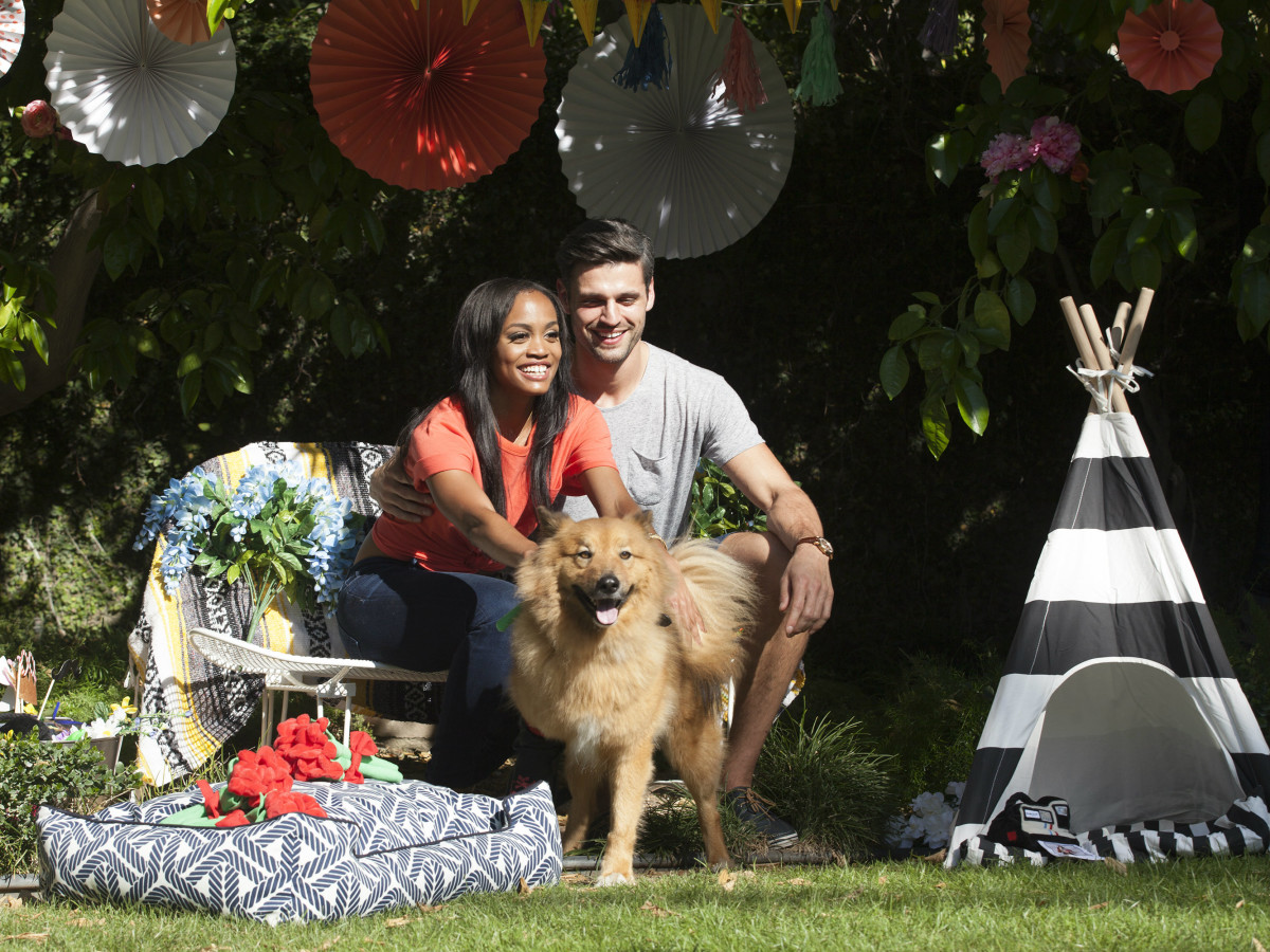 937bd467963a3 Rachel Lindsay s dog steals the show on episode 2 of The Bachelorette