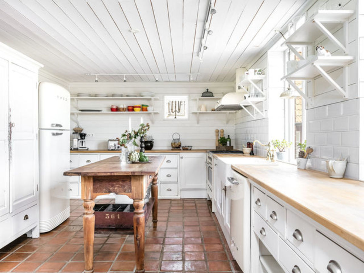 Houzz Home Design: 13 Essentials For A Charming Farmhouse-style Kitchen
